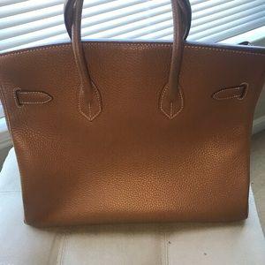 acdcd08d797c Bags - Gorgeous Birkin inspired leather handbag!